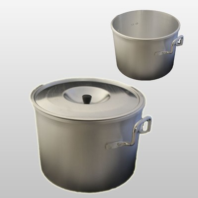 Scandinavian 6L Aluminium Cooking / Stock Pot