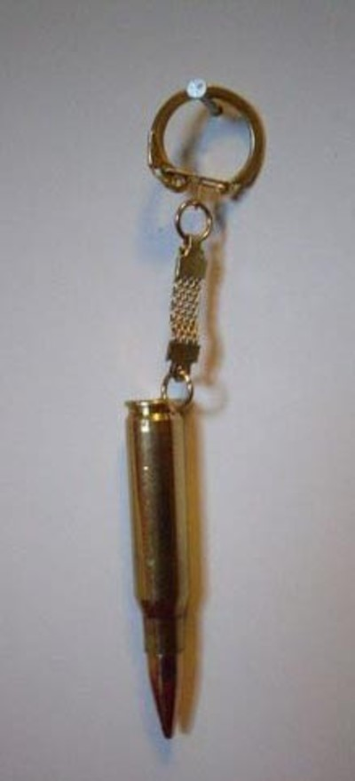 7.62mm Large Bullet Keyring