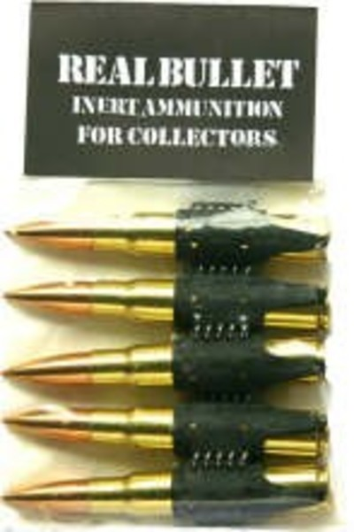 7.92 mm 5 Pack Cartridges Bullets