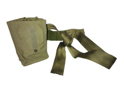 British Army Olive Green Radio Pouches G2
