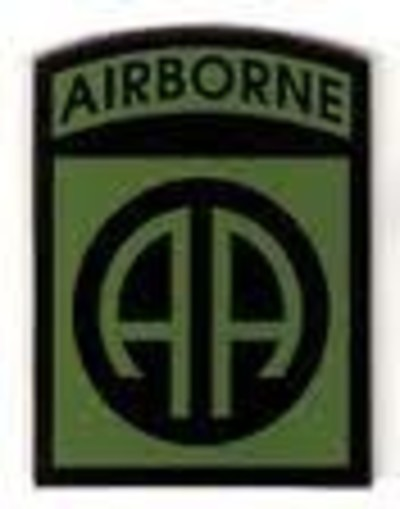 82nd Airborne Division Badge Subdued