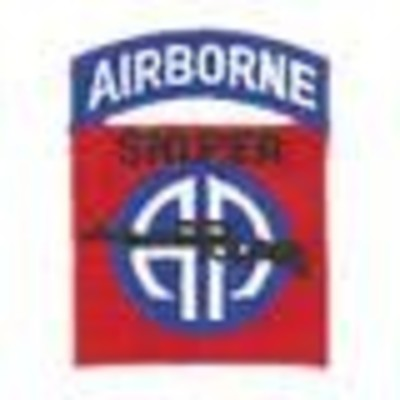 82nd Airborne Division Sniper Badge