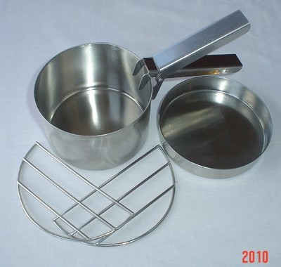 Kelly Kettle® Cook Set (Stainless Steel) for Trekker Model