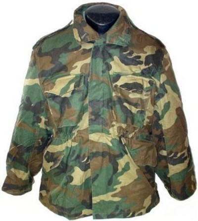 Croation M65 Camo Parka