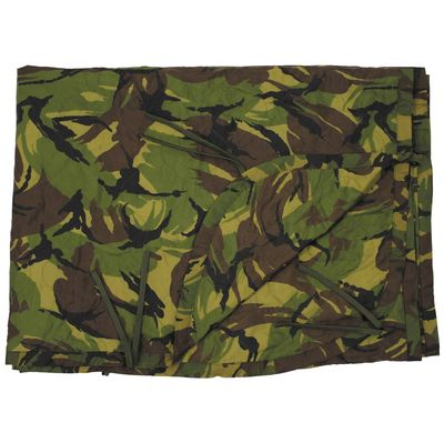 Dutch Army Woodland Camouflage Poncho Liner