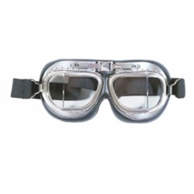 Classic Flyers Goggles - Chrome metal style Avaiators