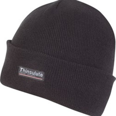 Black Thinsulate Bob Hat