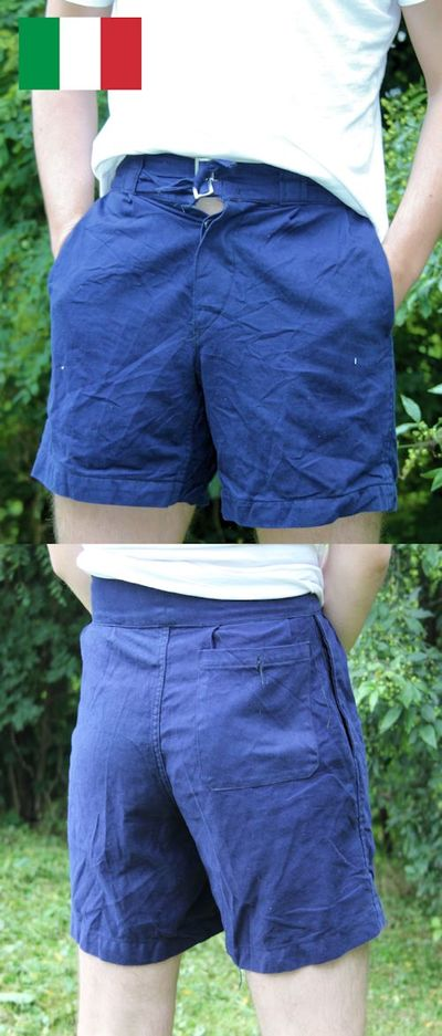 Italian Navy Safari Shorts