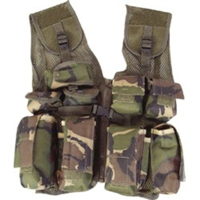 Kids Camo Assault Vest