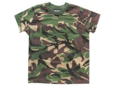 Kids Camo T Shirt