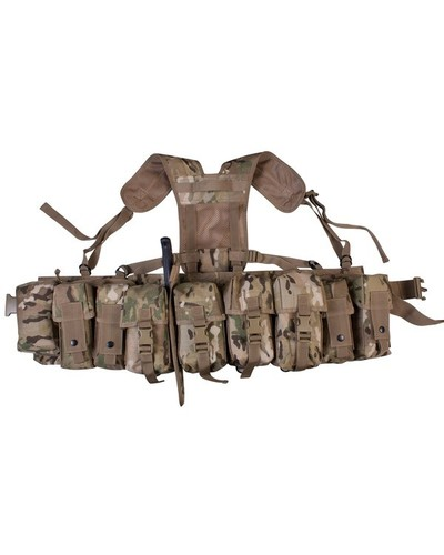 Army Multi Camo Pattern Airborne Webbing