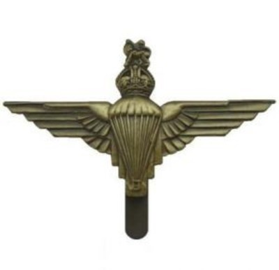 Para Metal Cap Badge