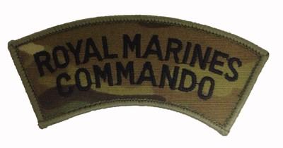 Royal Marines Commando Multicam® Badge