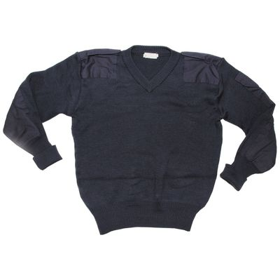 British RAF Blue V Neck Pullover