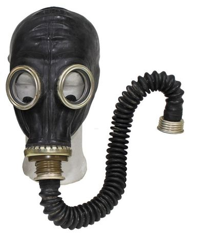Russian Army GP5 Gas Mask - Black