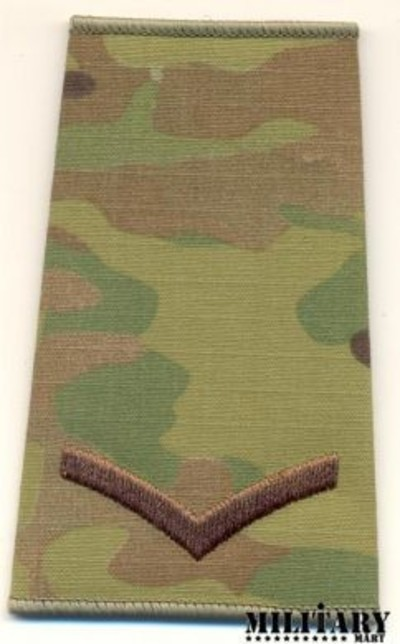 Multicam�® L/Cpl Rank slide