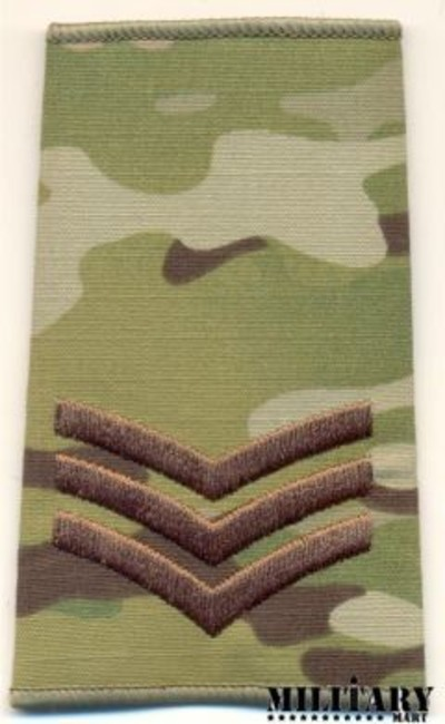 Multicam�® SGT Rank slide