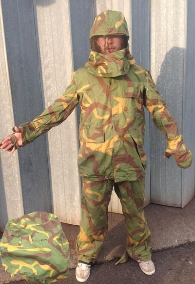 Serbian Yugoslavian M68 MOL Army Sniper ghillie suit Woodland camo