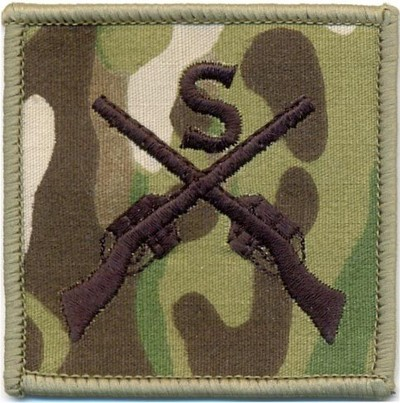 Sniper Qualification Patch Colour Subdued Multicam ®