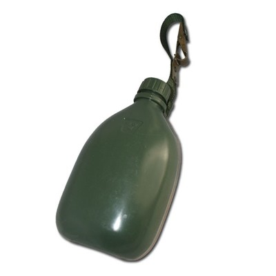 Swedish Army M90 Water Flask With Belt Loop
