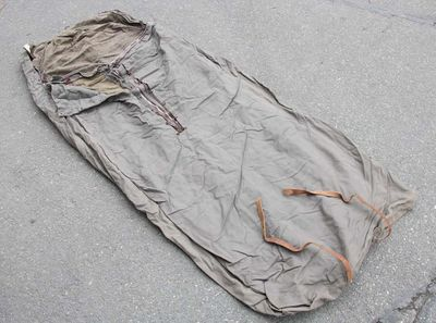 Swedish Army Vintage Rescue Sleeping Bag