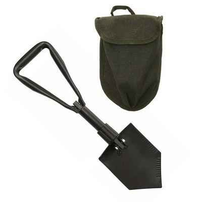 Trifold Shovel Shoval Spade with Cover