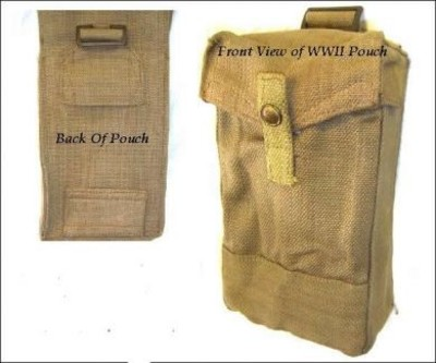 WW11 Type 37 Pattern Ammo Pouch