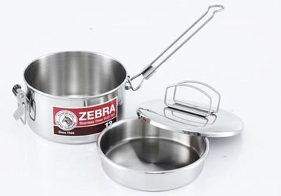 Zebra 14cm Camping Lunchbox Pot