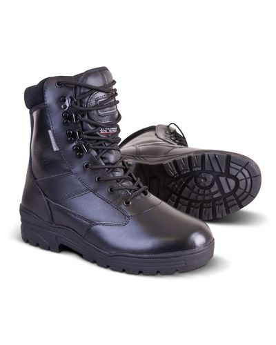 All Leather Patrol Combat Boots