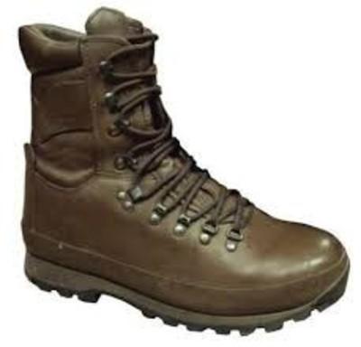 MOD altberg defender brown boots - Used