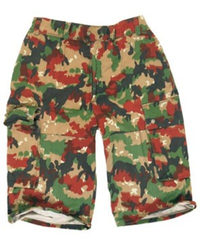 Swiss Alpenflage Camo Shorts