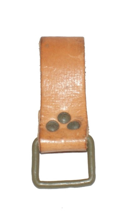 Czech Army Leather Belt Loop