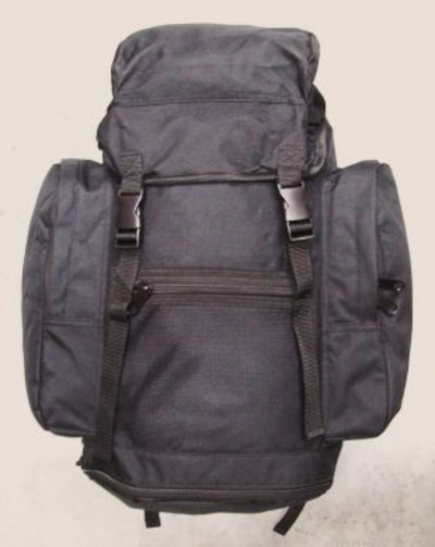 Black MOD Issue Field Pack Rucksack