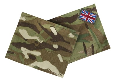 British Army MTP Blanking Patch set