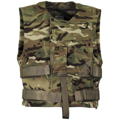 British Army Issue Kevlar MTP Camo Vest Cover