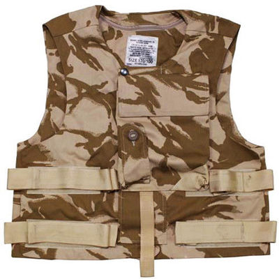 British Army Issue Kevlar Desert Camo Vest Cover