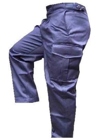 British Naval navy cargo trousers