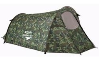 Camo Quick Pitch Tent