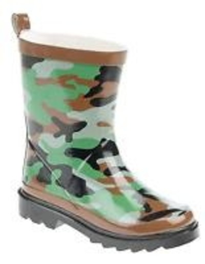 Kids Camo Wellies