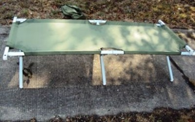 US Camp Cot Bed