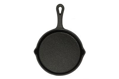 Round Flat Cast Iron pan - Small