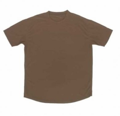 British Army Brown Cool Max T-Shirt