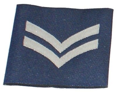 RAF Corporal Rank Slide Epaulette