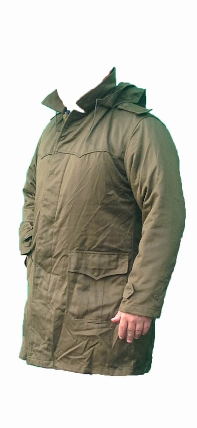 Czech Army olive Cold weather Parka