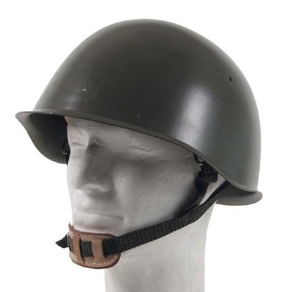 Czech m52 Steel Helmet - issued