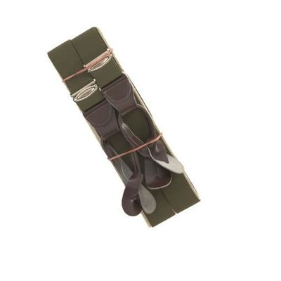 Czech Army Issue Olive Braces - New
