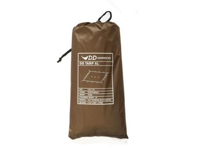 XL tarp coyote brown 4.5 x 3m DD hammocks