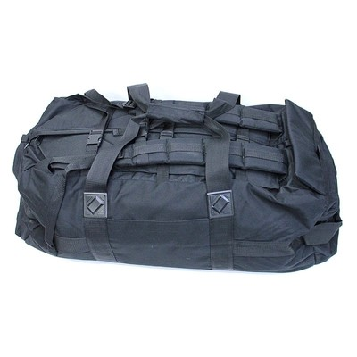 British Army issue black Deployment Bag