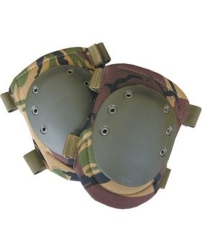 Black - DPM Camo Knee Pads