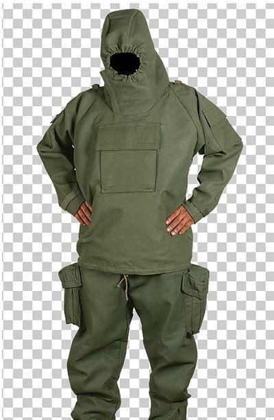 Dutch Army M82 NBC Suit - Sealed
